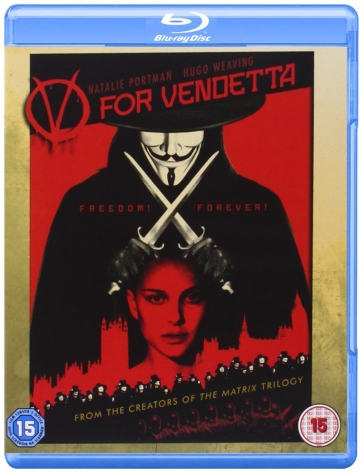 V for Vendetta Bluray