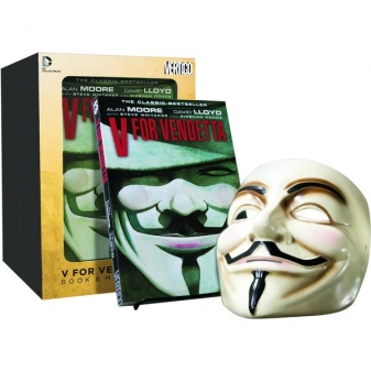 V for Vendetta Book & Mask