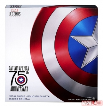 Captain America 75th Anniversary Shield Box